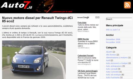 meglio-settimana-7-12-08 Il meglio della settimana: Toyota IQ 2009, Audi R8 5.2 V10...