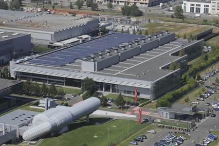 impianto-fotovoltaico-ferrari La Ferrari produce ed utilizza energia solare
