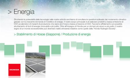 sito-hondaeco Il sito Honda dedicato a tecnologia ed ambiente: hondaeco.eu