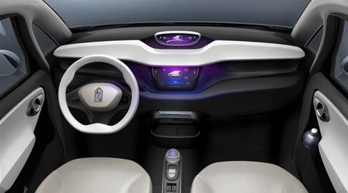 pininfarina-bluecar-2010-interni Auto elettriche: Pininfarina Bluecar 2010