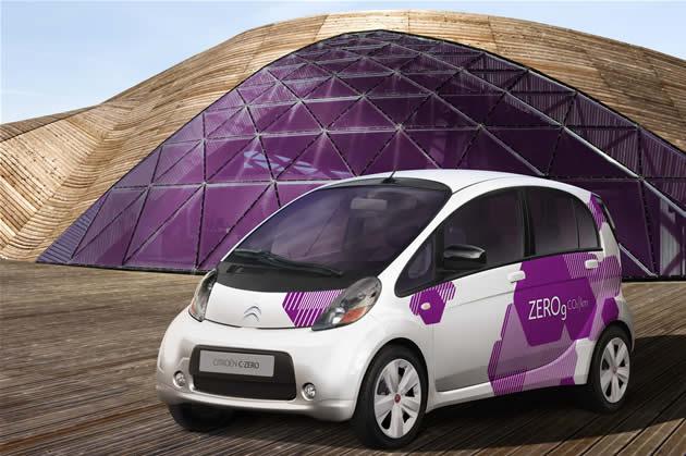 citroen-c0-elettrica Citroen C-Zero: l'auto elettrica per il 2010