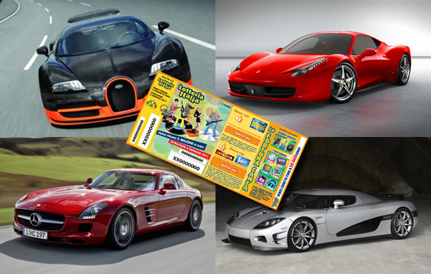 supercar-lotteria Le 8 supercar ideali per il vincitore della Lotteria Italia
