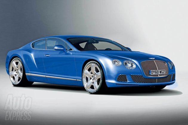 bentley_continental_gts Bentley Coupè 5 porte, Crossover e Baby GT: tre inediti modelli per il futuro