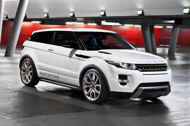 land_rover_range_rover_evoque_supercharged_render Land Rover: nuova Range Rover ed Evoque Supercharged