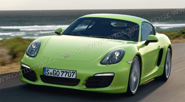 nuova_porsche_cayman_render Porsche Cayman: nuovo render per la seconda generazione