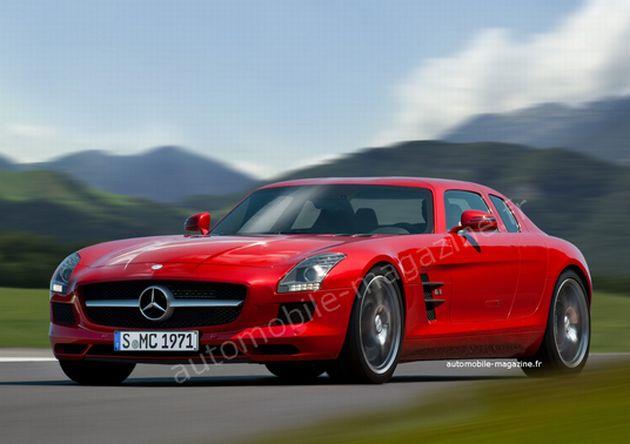 mercedes_sls_amg_4_porte_render_01 Mercedes SLS AMG: i render della variante a 4 porte
