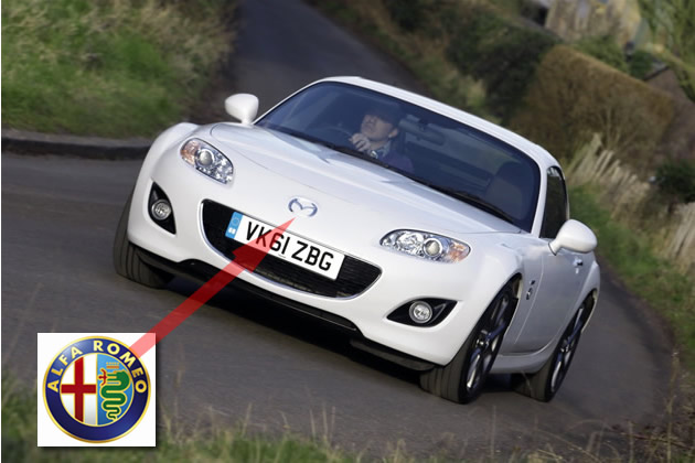 mazda-mx-5-2012-alfa-romeo Mazda MX-5 nel futuro Alfa Romeo