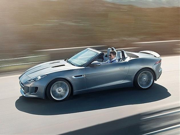 jaguar-f-type-2013-laterale Jaguar, la nuova F-Type 2013: panoramica delle caratteristiche e foto