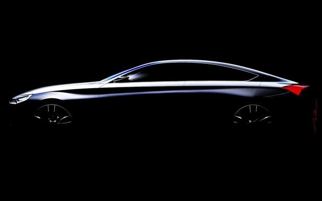 Hyundai-HCD-14-Concept-Teaser-2013 Hyundai HCD-14, la berlina sportiva disegnata a Irvine
