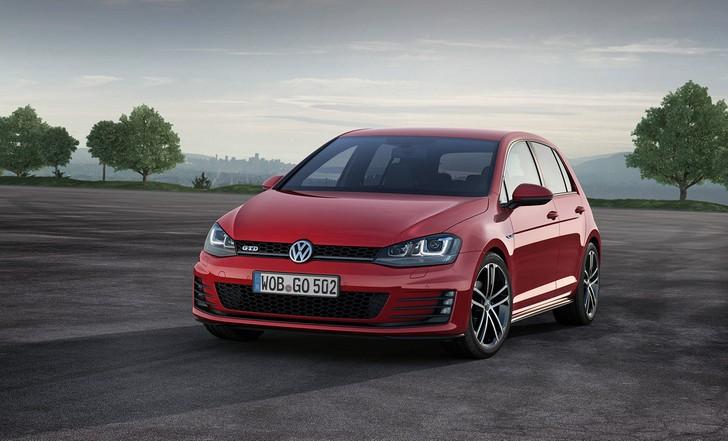 nuova-volkswagen-golf-gtd Nuova Golf GTD disponibile da giugno in Europa