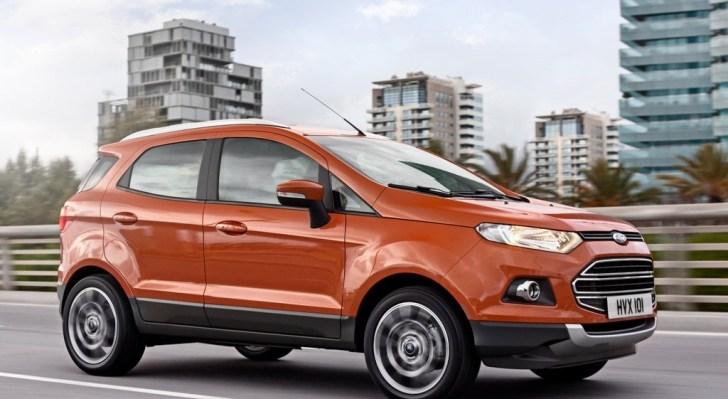 Ford-EcoSport Ford Ecosport, il Suv da città