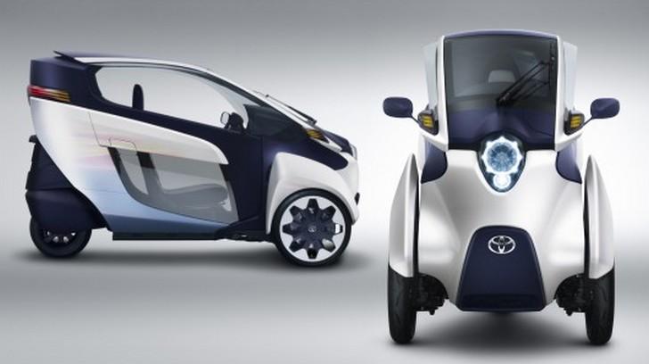 toyota-i-road I-ROAD, Toyota presenta la concept a tre ruote