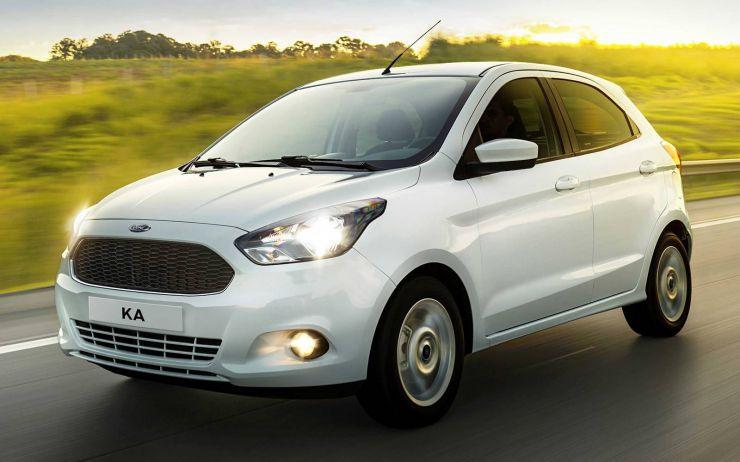 ford-ka-2017-5-porte Auto economiche a meno di 10.500 euro