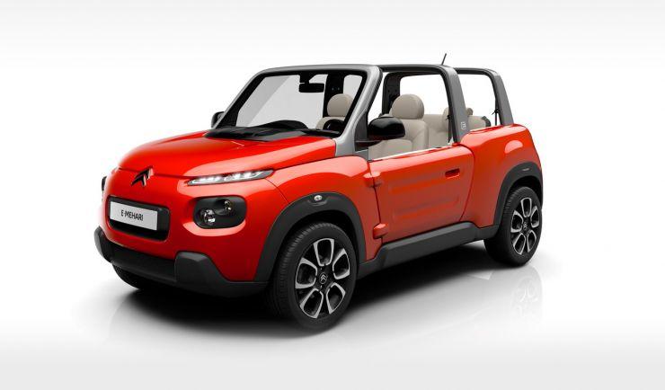 Citroen-E-Mehari Auto Elettriche più Economiche e Convenienti