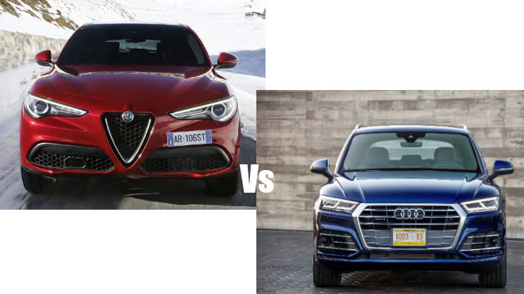 stelvio-vs-q5-1 Confronto Alfa Romeo Stelvio Vs Audi Q5