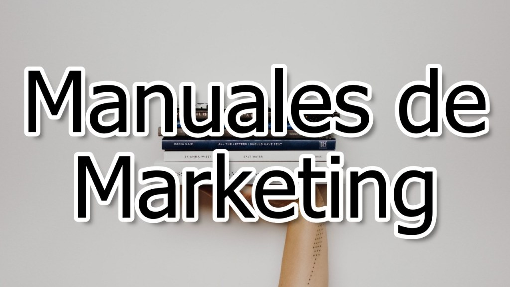 Manuales de Marketing