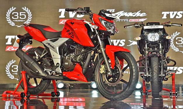 2018 TVS Apache RTR 160 Price(INR 81K-90K), Specification,Mileage