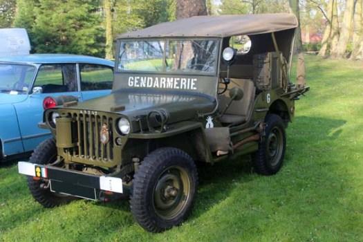 RCH oblige, les véhicules militaires avaient bonne place...