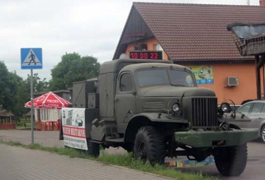 Un GAZ Zis 51 militaire de 1948 : ne le montrez pas à Olivier, il pourrait craquer !