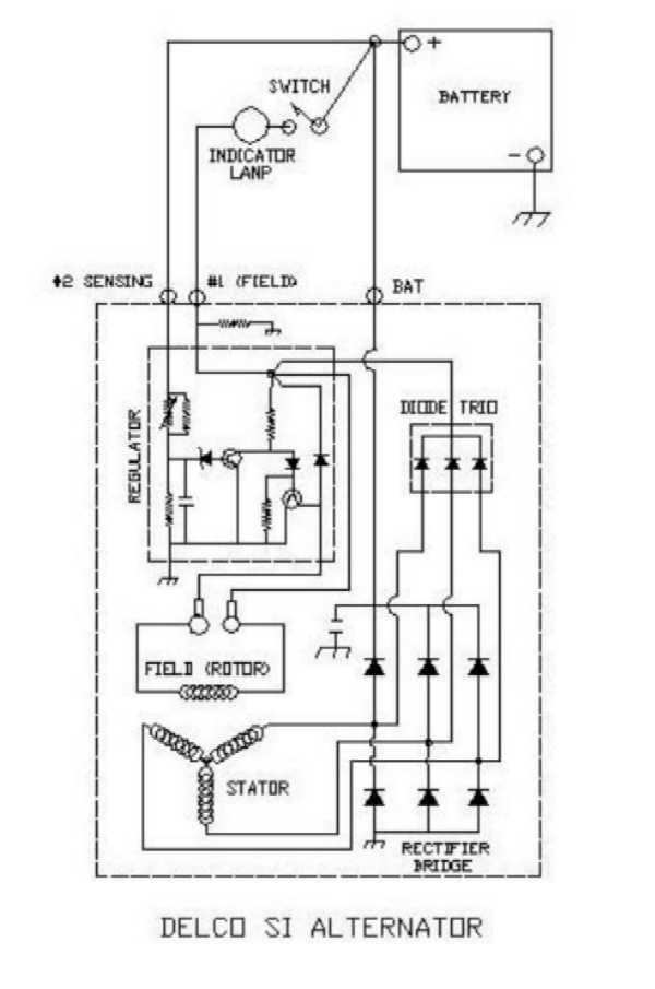 AutoReWire.com Delco 10 SI Drawings and Notes