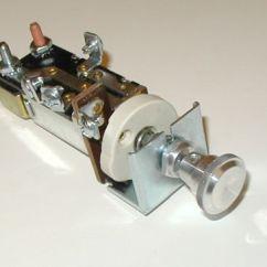 Wiring Diagram Headlight Dimmer Switch 94 Ford Ranger Fuse Box 12v Universal 28 30 32 34 Chevy B | Ebay