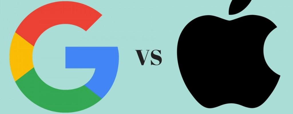 ¿Realmente vale más Google (Alphabet) que Apple?