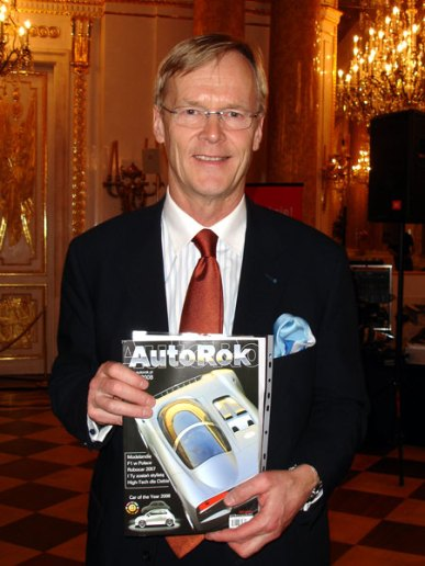 Ari Vatanen - były Rajdowy Mistrz Świata, obecnie Parlamentarzysta UE