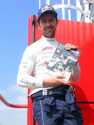 Cyril Despres, kierowca rajdowy, Peugeot Team, 5-krotny zwycięzca Rajdu Dakar