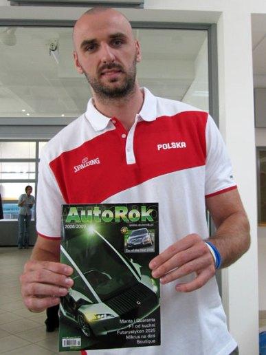 Marcin Gortat - polski koszykarz, zawodnik Orlando Magic. Jako jedyny Polak w historii NBA awansował do jej finału