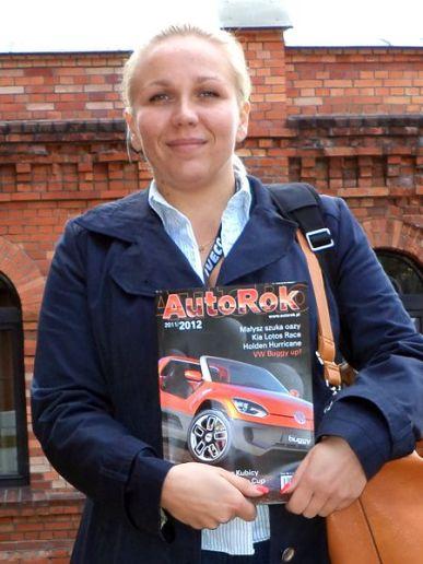 Karolina Lampel-Czapka – mistrzyni Polski w wyścigach samochodów GT
