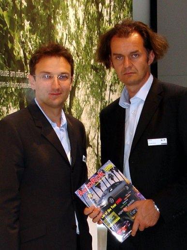 Maksymilian Szwaj i Tomasz Sycha - BMW Design