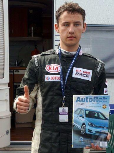 Bartłomiej Mirecki - zwycięzca Kia Lotos Race