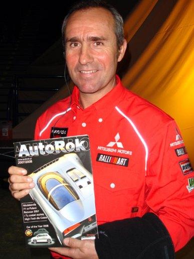 Stephane Peterhansel - wielokrotny zwycięzca Rajdu Dakar