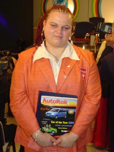 - polska sztangistka, mistrzyni świata