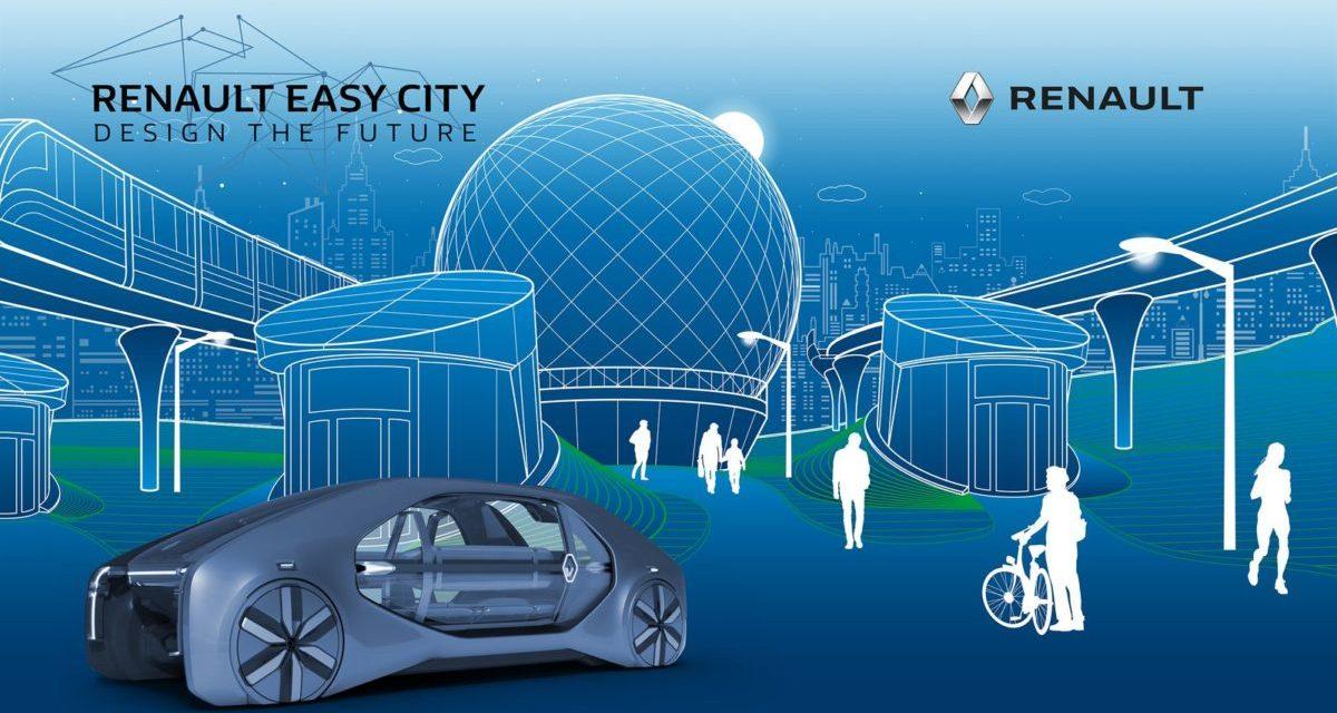 """Konkurs """"Renault Easy City. Design the Future"""" – Węzeł przesiadkowy"""