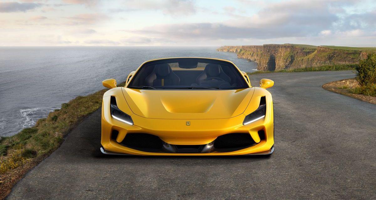 Ferrari F8 Spider – Wdzięk i dźwięk
