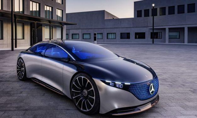 Mercedes Vision EQS – Ale klasa!