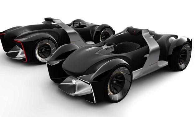 Toyota e-Racer – Dzika fantazja