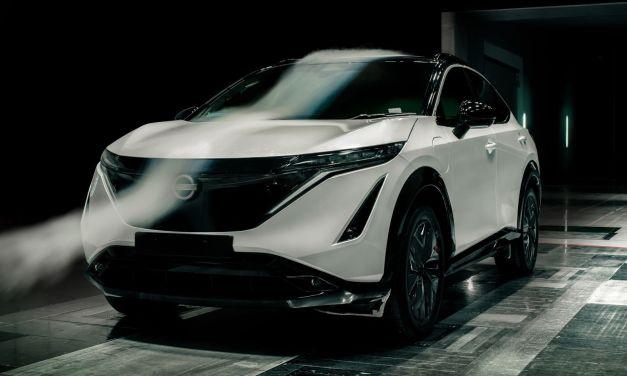 Nissan Ariya – Walka z wiatrem