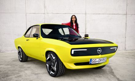 Opel Manta GSe ElektroMOD – Reinkarnacja bestsellera