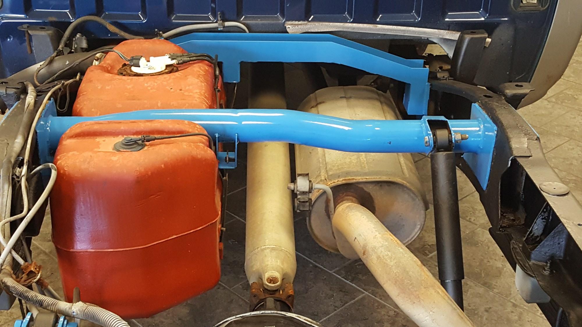 hight resolution of rear fuel tank