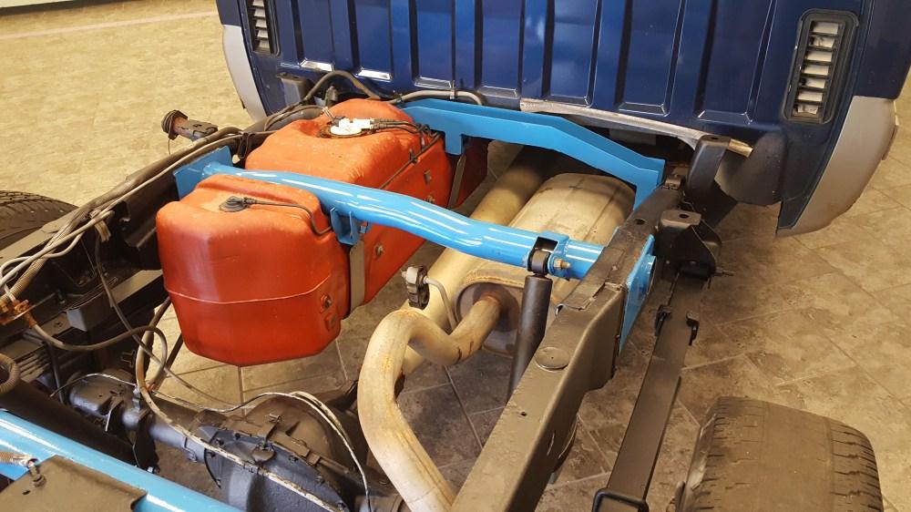 medium resolution of rear fuel tank support crossmember art 139