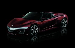 Acura NSX Convertible as seen in The Avengers