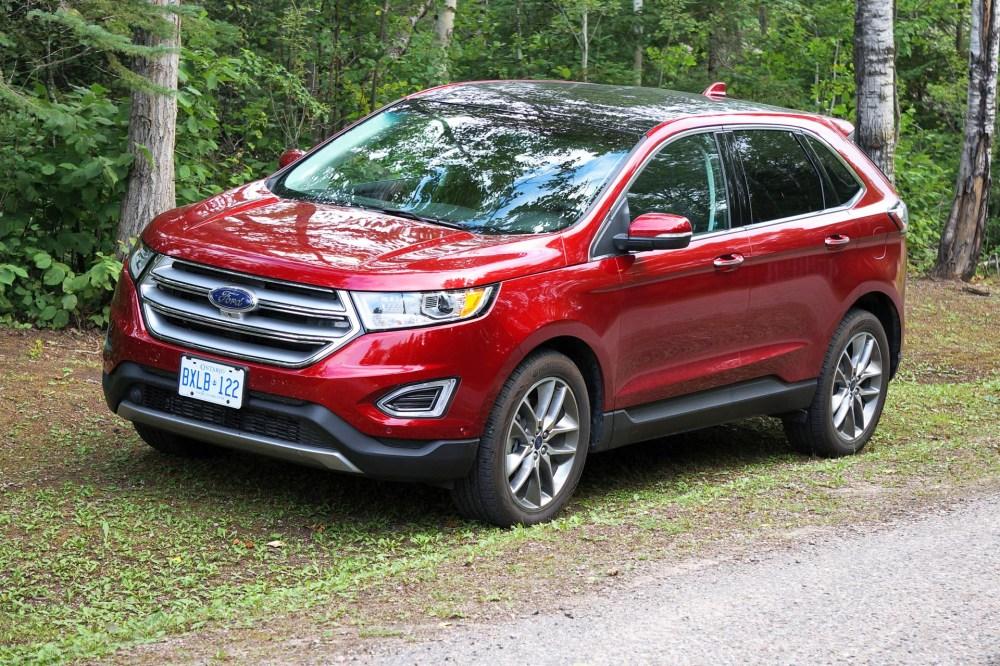 medium resolution of test drive 2015 ford edge