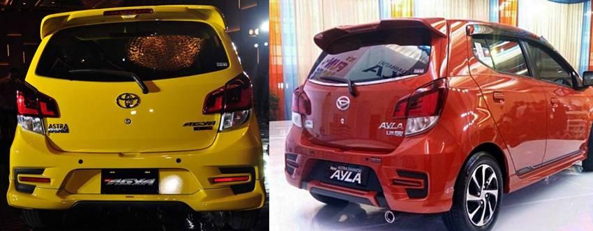 perbedaan new agya g dan trd grand toyota avanza 2015 temukan daihatsu ayla autos id