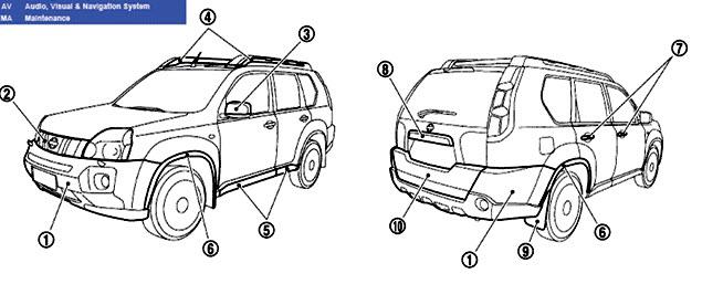 Manual De Reparacion Nissan X-trail 2000 2002 2003 2004 2005