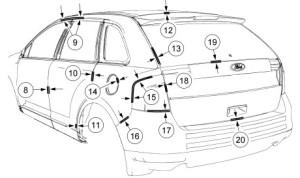 Ford Edge 2013 Manual De Mecánica y Reparación Taller