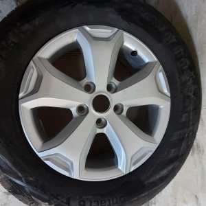 """Dacia Duster 16"""" Complete Wheels"""