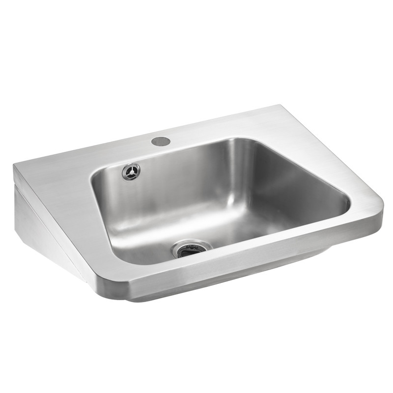 lavabo inox suspendu eco