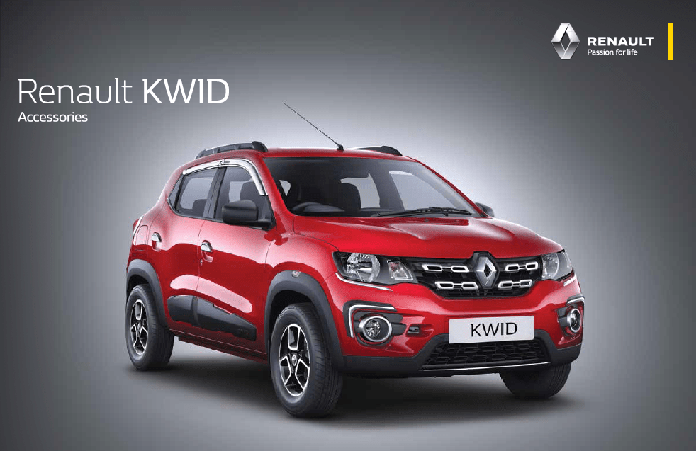 Renault Kwid to offer 60 unique Accessories and 6 accessory packs, Kwid Accessory video inside